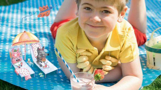 Recettes pour enfants: goûters et glaces de l'été