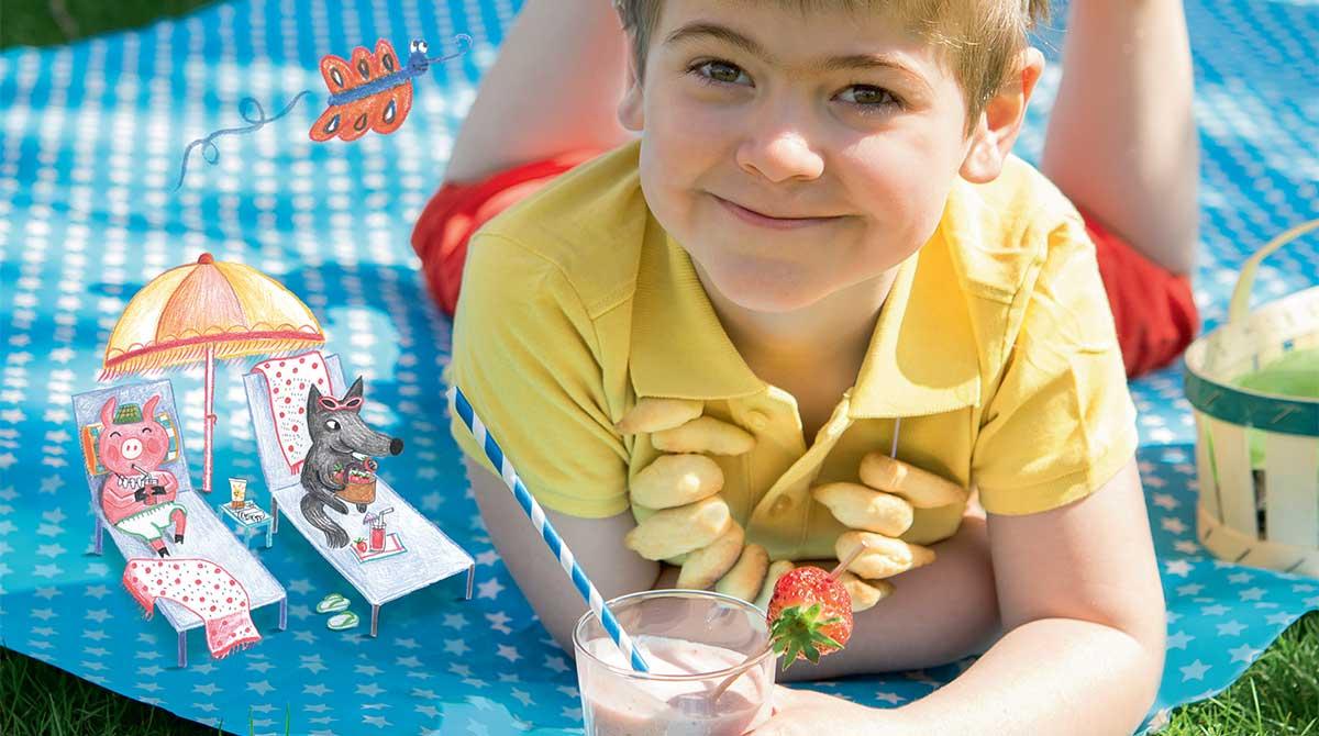 Recettes pour enfants : goûters et glaces de l'été