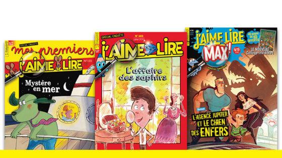 Trois romans policiers écrits pour les enfants!