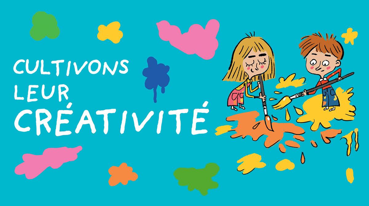5 idées d'activités artistiques pour cultiver la créativité des enfants