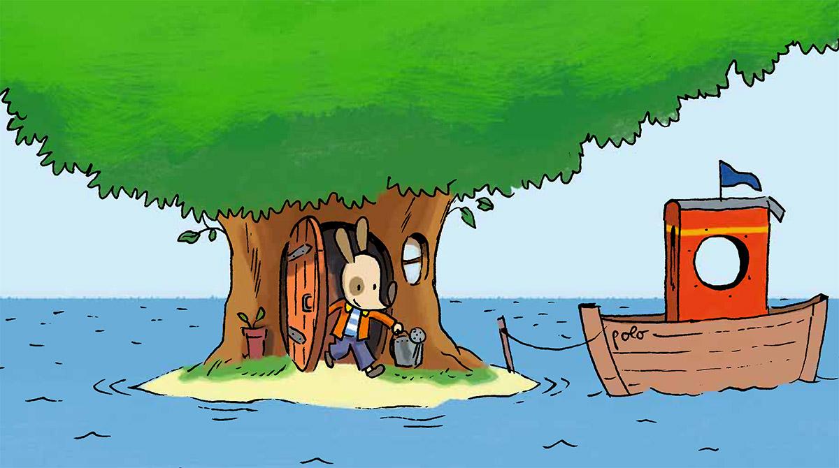 Du magazine au dessin animé, que d'aventures avec Polo !