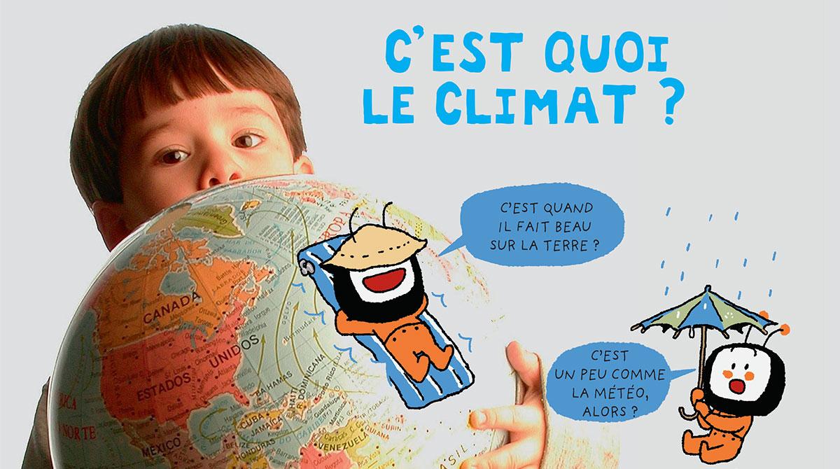 Climat : comment expliquer aux enfants et aux adolescents ?