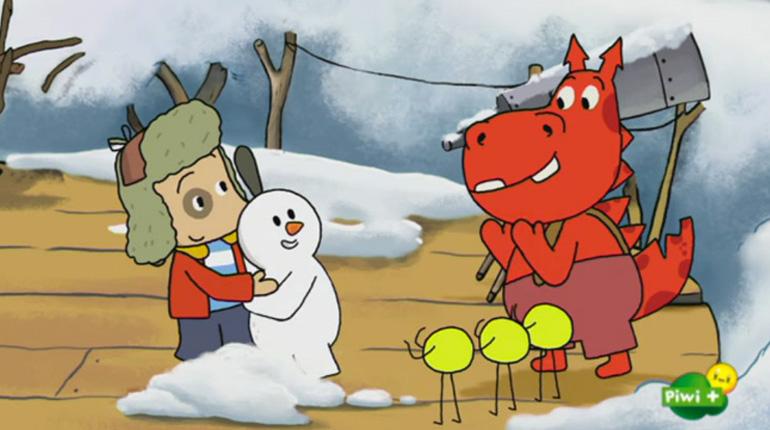 Les aventures de Polo, le dessin animé