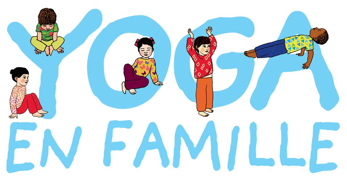 Yoga : cinq postures faciles à essayer en famille avec Pomme d'Api