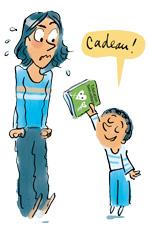 Education bienveillante - illustration cadeau