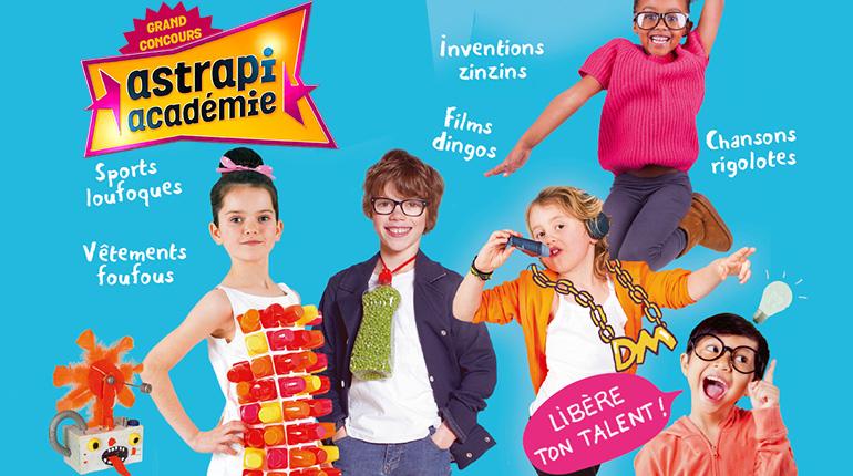 Astrapi Académie : un concours délirant pour les 7-12 ans