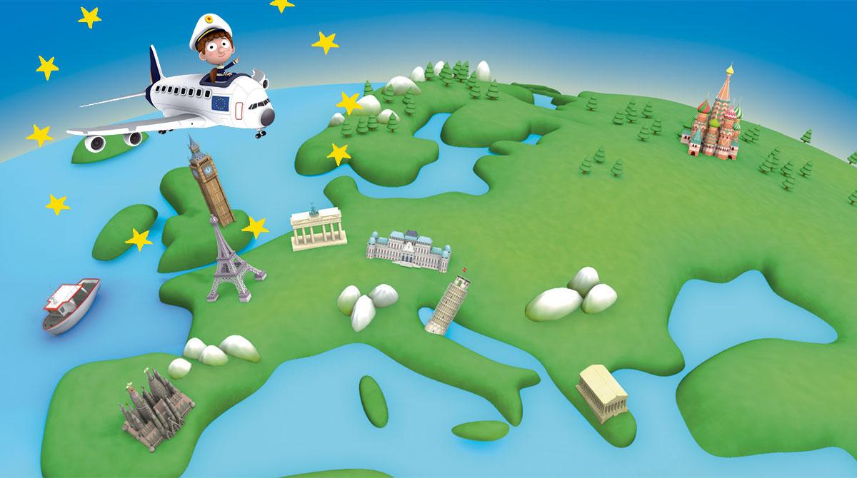 Les 8-12 ans à la découverte de l'Europe avec Images Doc