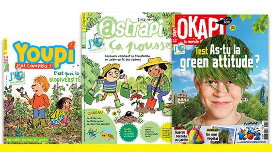 Des dizaines d'idées pour protéger la nature et jardiner autrement avec les enfants et les ados