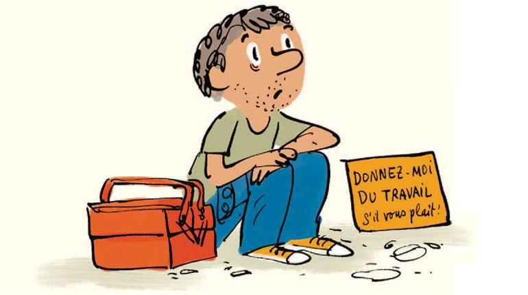Comment parler de la pauvreté aux enfants ? Illustration : Robin
