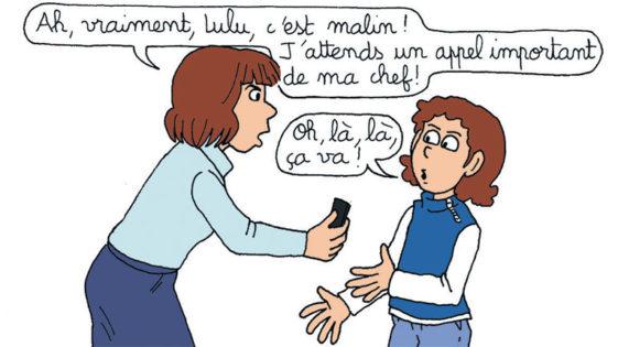 Parents accros à leur portable: les enfants en parlent avec Astrapi