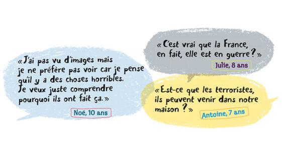 Attentats de Paris: les bons mots pour expliquer aux enfants