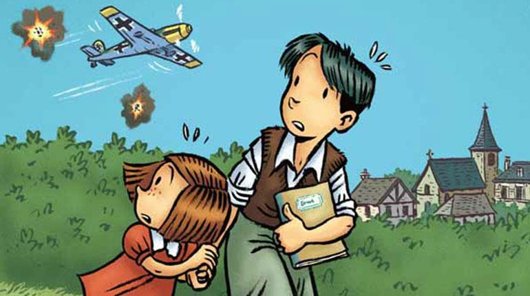 """Comment parler de la Seconde Guerre mondiale aux enfants ? Extrait de la série """"Les Grandes Grandes Vacances"""""""