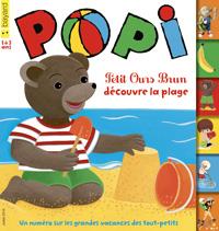 Couverture du magazine Popi, juillet 2016