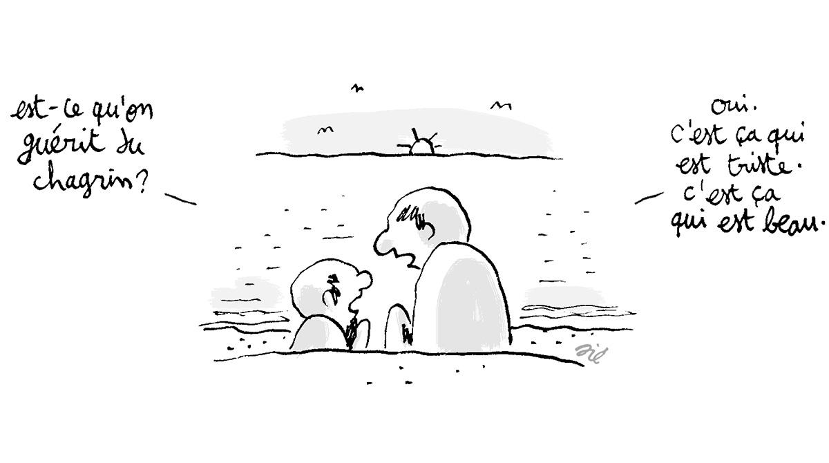 Attentat à Nice : en parler avec les enfants - Illustration : Jérôme Sié
