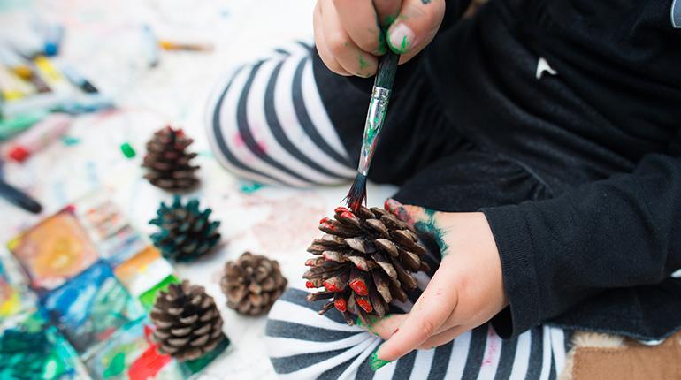 Coloriages, bricolages, recettes de Noël pour les enfants