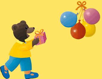 Préparez une vidéo d'anniversaire Petit Ours Brun personnalisée pour votre enfant !