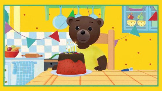 Une vidéo d'anniversaire personnalisée avec Petit Ours Brun