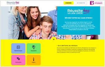 Consulter le site Reussite-bac.com