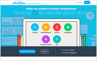 Consulter le site Afterclasse.fr