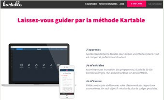 Consulter le site Kartable.fr