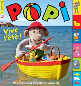 Couverture du magazine Popi de juillet 2017