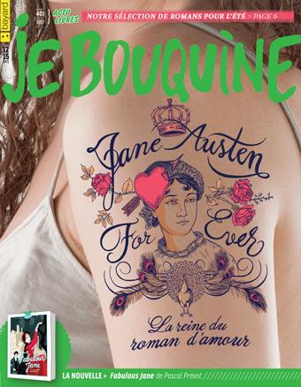 Couverture du magazine Je bouquine, juillet 2017