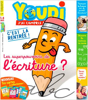 Couverture du magazine Popi, septembre 2017, n° 348