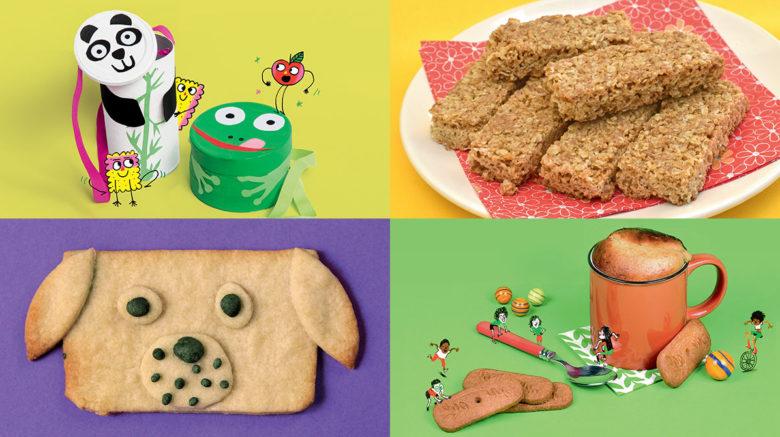 À faire avec les enfants : une boîte et trois recettes pour le goûter