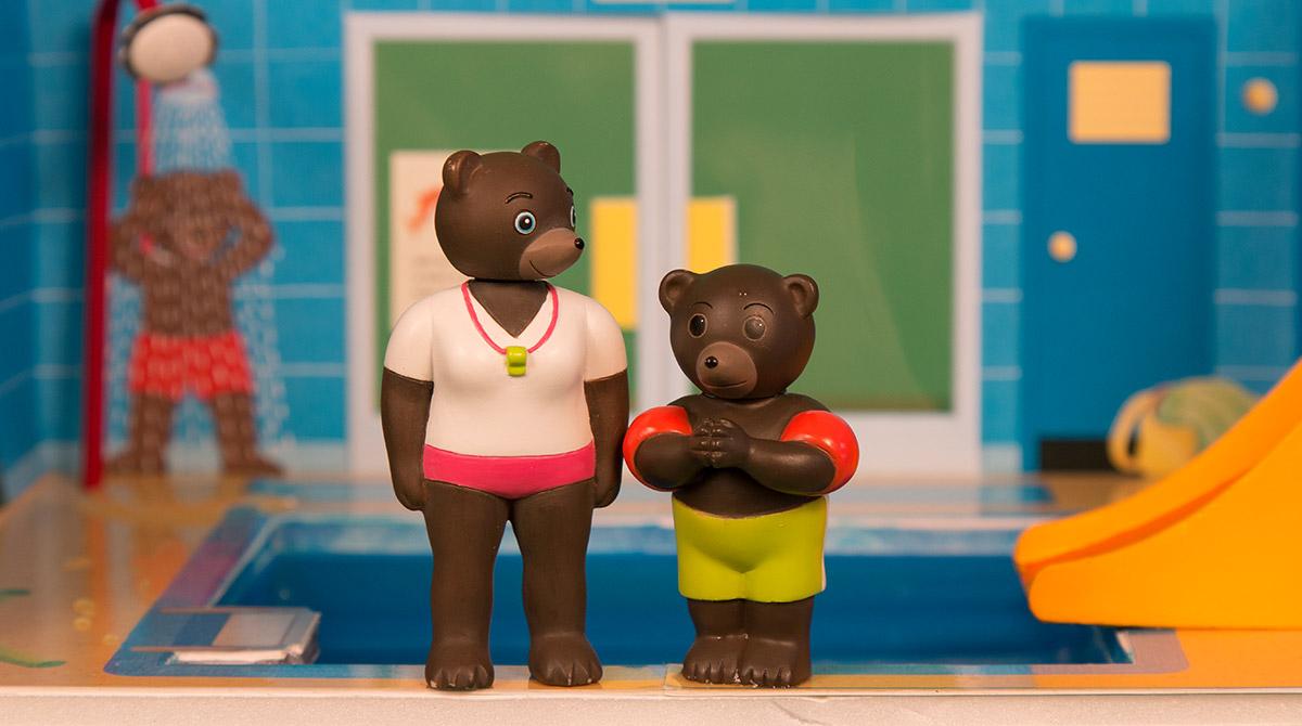 Les figurines Petit Ours Brun arrivent sur YouTube !