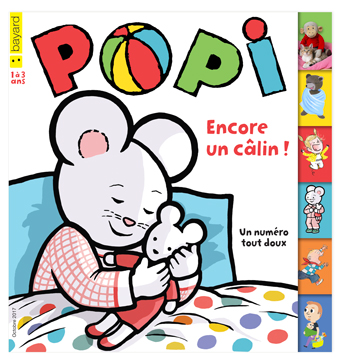 Couverture du magazine Popi, octobre 2017, n° 374