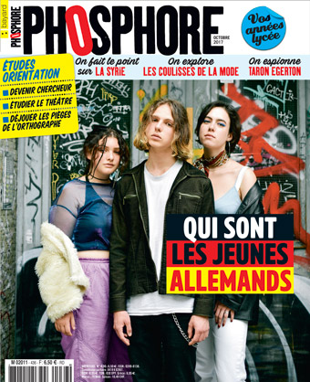 Couverture du magazine Phosphore n° 436, octobre 2017
