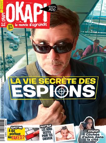 Couverture du magazine Okapi, n° 1053, octobre 2017