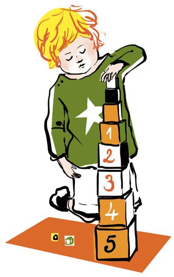 """""""Montessori pour les nuls – Petit traité de pédagogie"""", supplément pour les parents, Pomme d'Api, octobre 2017. Texte : Joséphine Lebard. Illustrations : Zelda Zonk. En savoir plus : https://www.pommedapi.com/parents/le-cahier-parents/montessori-petit-traite-de-pedagogie-avec-pomme-dapi"""