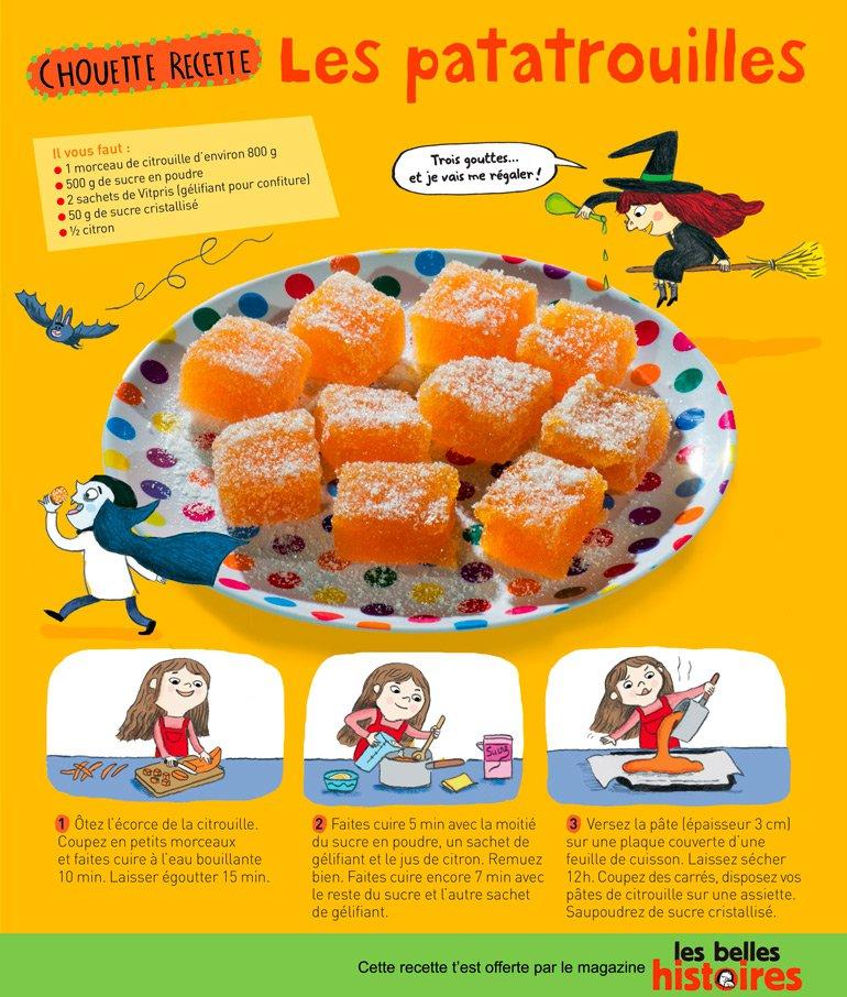 Téléchargez la recette des pâtes de fruits à la citrouille