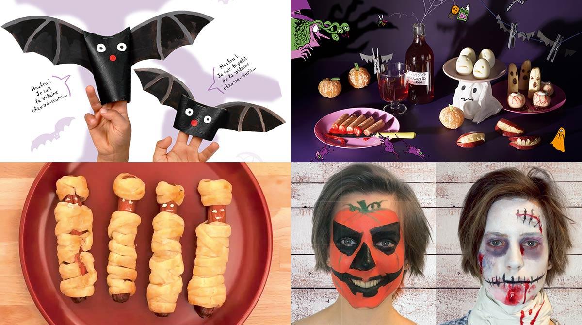 Recettes, bricolage et maquillage pour Halloween