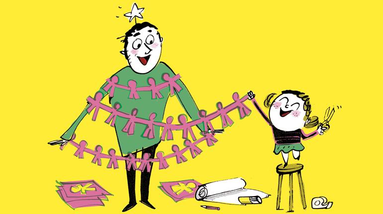 Preparer Noel 8 Idees D Activites Faciles A Faire Avec Les Enfants Bayard Jeunesse