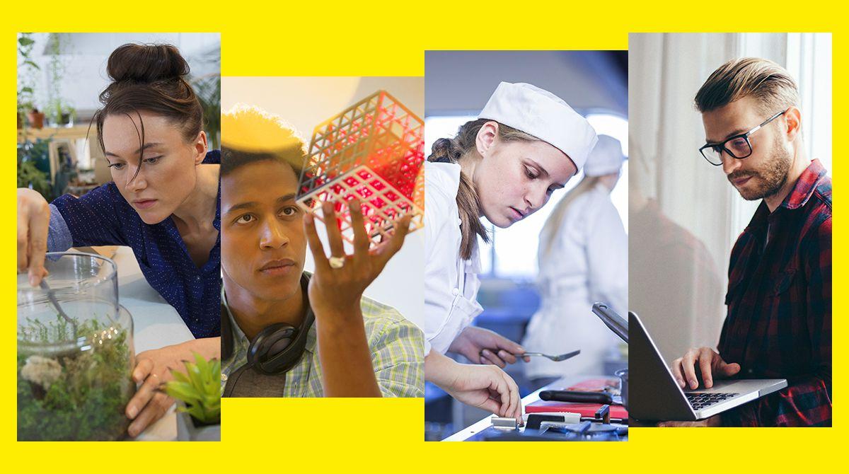 Hors-série du magazine Phosphore - Le Guide des métiers 2018, 165 métiers à découvrir