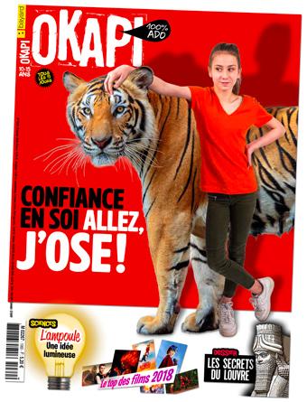 Couverture du magazine Okapi, n°1060, 15janvier2018 - Chez les marchands de journaux dès le 10 janvier