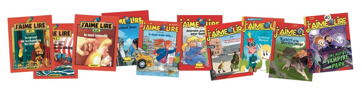 Commandez plus de 100 romans de votre enfance sur le site jaimelire.com