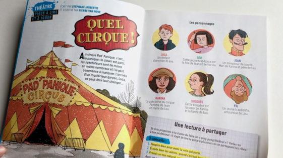 J'aime lire Max se met au théâtre : Quel cirque!