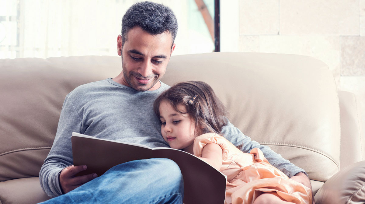 Cinq bonnes raisons de lire des histoires à son enfant…