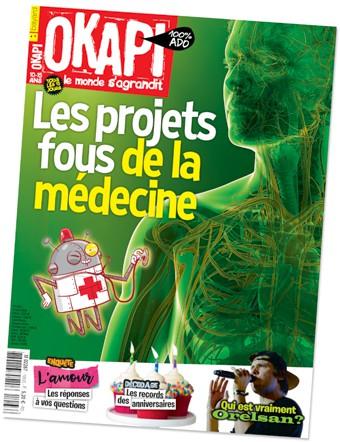 Voir le sommaire du magazine Okapi, n°1063, 1er mars 2018