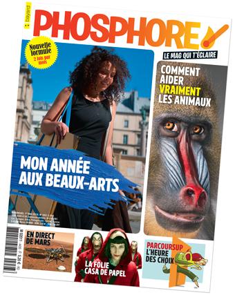 Couverture du magazine Phosphore n°443, mai 2018