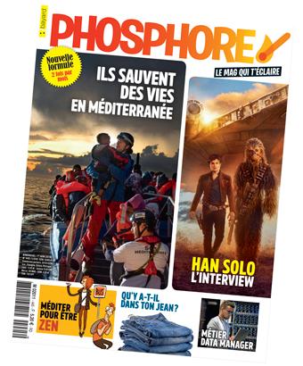 Couverture du magazine Phosphore n°445, juin 2018