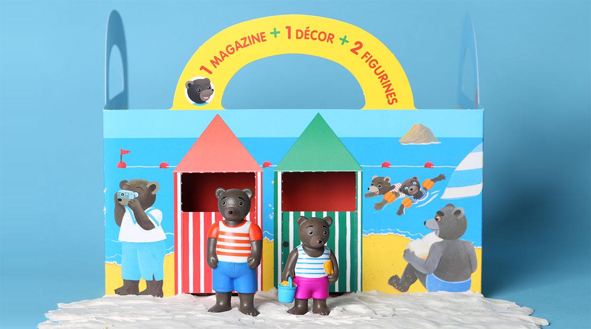 Les petits mondes de Petit Ours Brun : À la plage