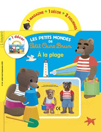 """Chez quels marchands de journaux acheter le magazine """"Les petits mondes de Petit Ours Brun : À la plage"""", n°46, juillet-septembre 2018 ?"""