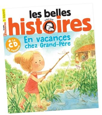 Voir le sommaire du magazine Les Belles Histoires n°547, juillet2018.