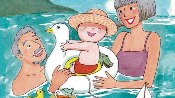 Tout-petits : vive les vacances chez les grands-parents!