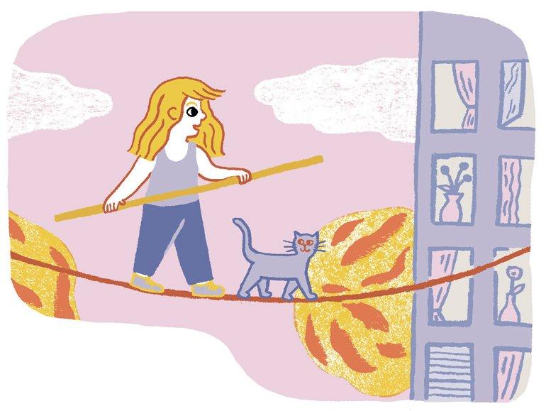 """"""" L'autonomie à hauteur d'enfant """", supplément pour les parents du magazine Pomme d'Api n° 638, octobre 2018. Texte : Anne Bideault, illustrations : Charline Giquel."""