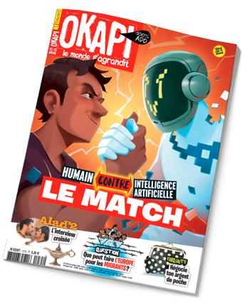 Couverture du magazine Okapi n°1075, 1er octobre 2018